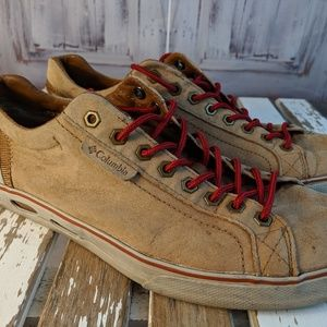 Columbia shoes sneakers mens 11 leather casual bro